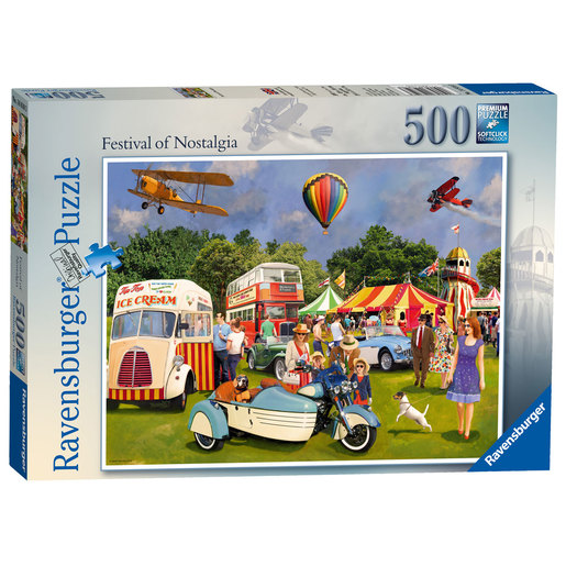 Ravensburger Festival of Nostalgia Puzzle - 500pc