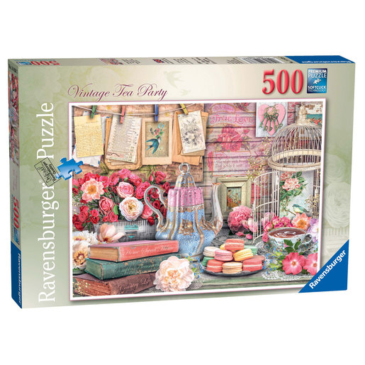 Ravensburger Vintage Tea Party Puzzle - 500pc