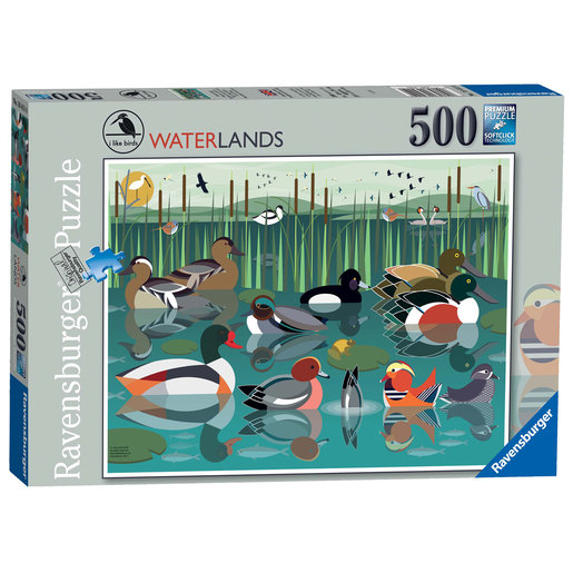 Ravensburger I like Birds Waterlands Puzzle - 500pc