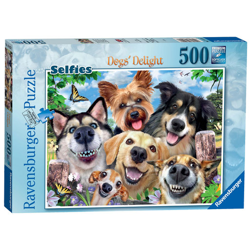 Ravensburger Selfies Dogs' Delight Puzzle - 500pc