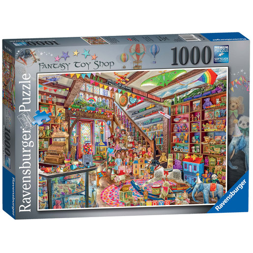 Ravensburger The Fantasy Toy Shop Puzzle - 1000pc