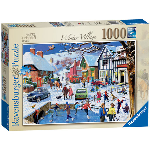 Ravensburger No.3 Leisure Days The Winter Village Puzzle - 1000pc