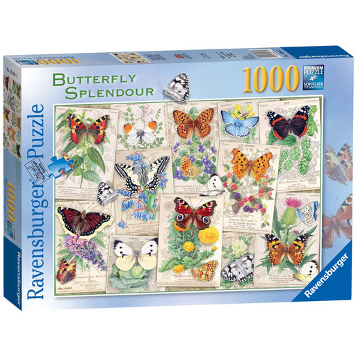 Ravensburger Butterfly Splendour Puzzle - 1000pc