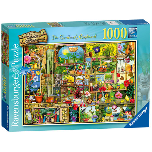Ravensburger The Gardener's Cupboard Puzzle - 1000pc