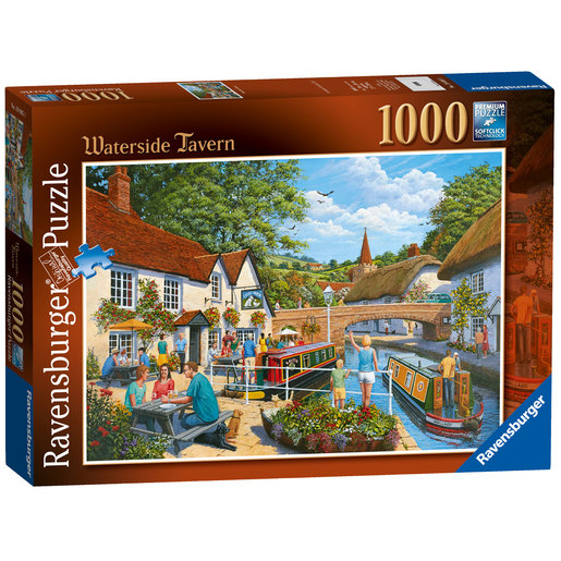 Ravensburger Waterside Tavern Puzzle - 1000pc