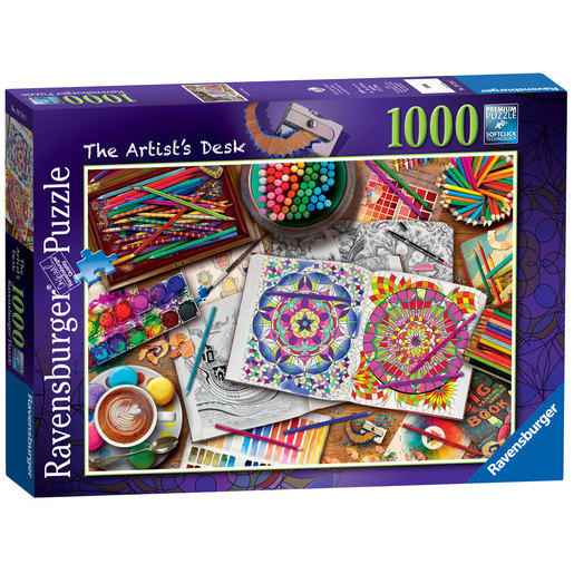 Ravensburger The Artist's Desk Puzzle - 1000pc