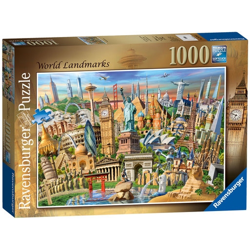 Ravensburger World Landmarks Puzzle - 1000pc