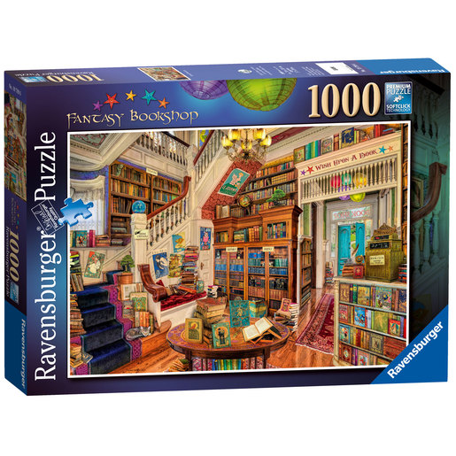 Ravensburger The Fantasy Bookshop Puzzle - 1000pc