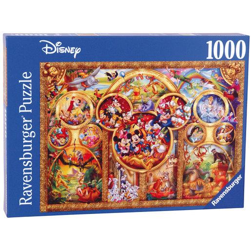 Ravensburger The Best Disney Themes Puzzle - 1000pc from TheToyShop