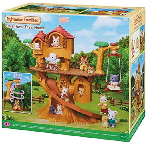 Sylvanian Families Adventure Tree House