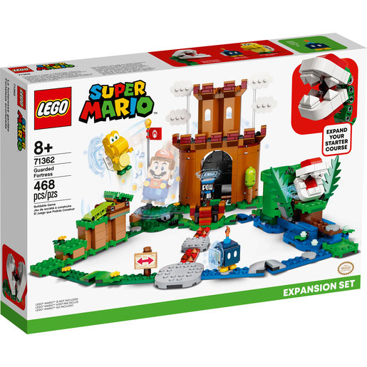 LEGO Super Mario Guarded Fortress Expansion Set - 71362