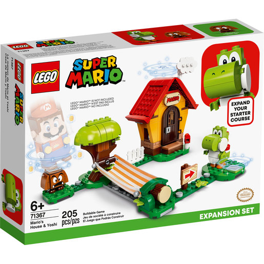 LEGO Super Mario Mario's House and Yoshi Expansion Set - 71367