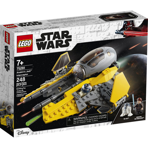 LEGO Star Wars Anakin's Jedi Interceptor - 75281