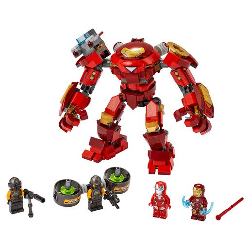 LEGO Marvel Avengers Iron Man Hulkbuster Versus A.I.M. Agent - 76164