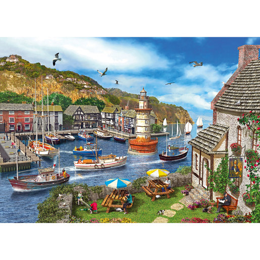 Gibsons Lighthouse Bay Puzzle - 1000pcs.