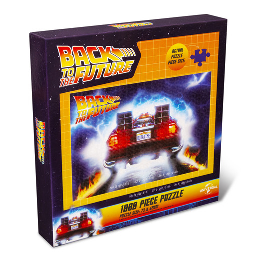 Back To The Future 1000pc Puzzle