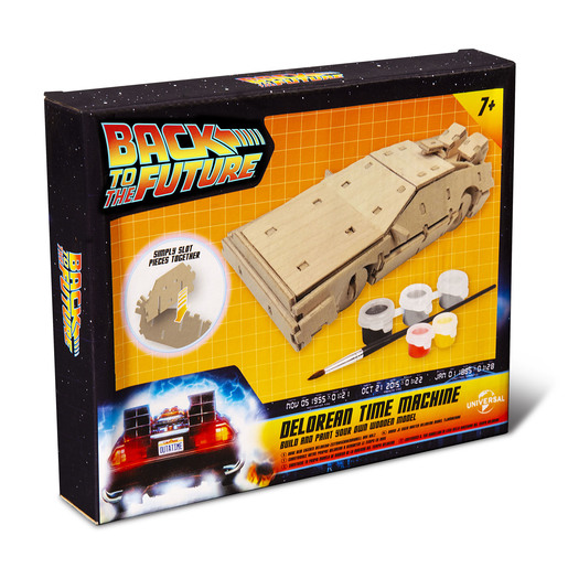 Back To The Future Paint Your Own Delorean Time Machine