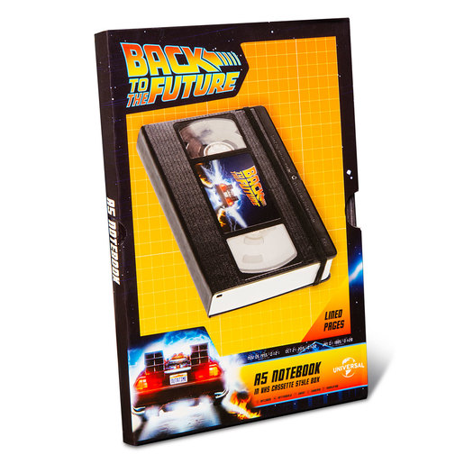 Back To The Future A5 Notebook from TheToyShop