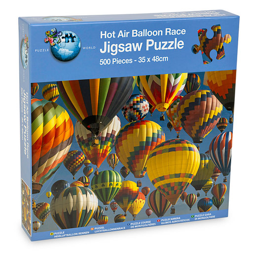 Hot Air Balloon Race Puzzle - 500pcs.
