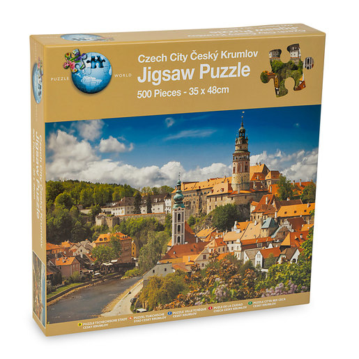 Czech City Puzzle - 500pcs.