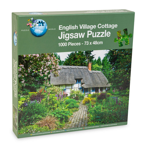 English Village Cottage Puzzle - 1000pcs.