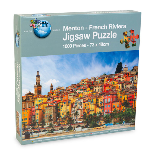 Menton French Riviera Puzzle - 1000pcs.