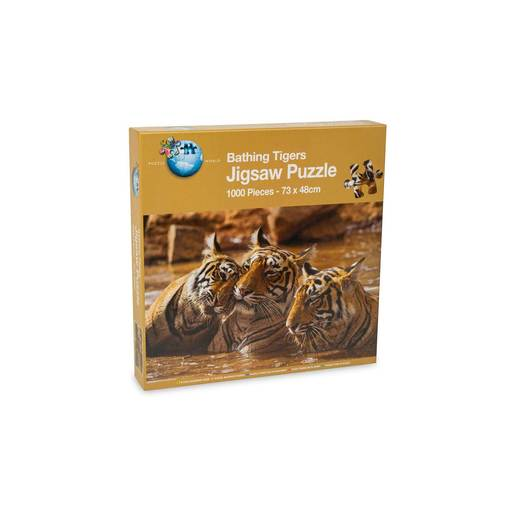 Bathing Tigers Puzzle - 1000pcs.