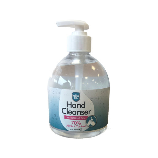Antibacterial Hand Sanitiser Gel 500ml - Contains 70% Alcohol