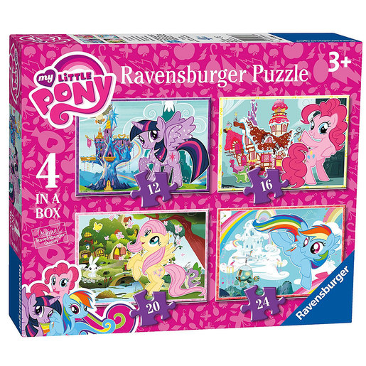 Ravensburger 4 in a Box Puzzles - My Little Pony from TheToyShop