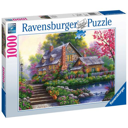 Ravensburger Romantic Cottage Puzzle - 1000pcs.