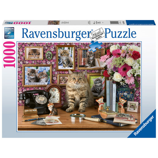 Ravensburger My Cute Kitty Puzzle - 1000pcs.