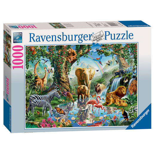 Ravensburger Adventures In The Jungle Puzzle - 1000pcs.