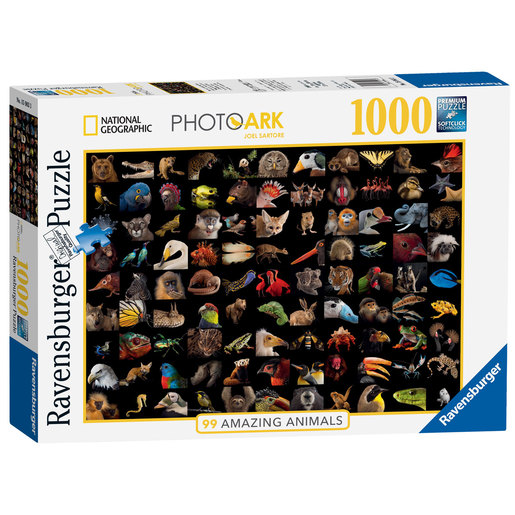 Ravensburger National Geographic Amazing Animals Puzzle - 1000pcs.