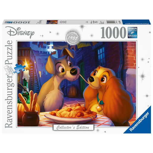 Ravensburger Disney Collectors Edition Lady and The Tramp Puzzle - 1000pcs.