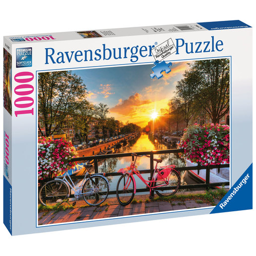 Ravensburger Bicycles In Amsterdam Puzzle - 1000pcs.