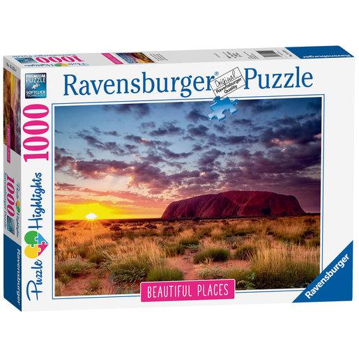 Ravensburger Ayers Rock, Australia Puzzle - 1000pcs.