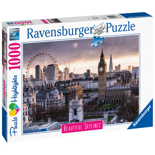 Ravensburger Beautiful Skylines London Puzzle - 1000pcs.