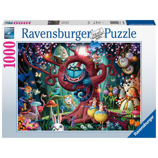Ravensburger Almost Everyone is Mad - Alice in Wonderland Puzzle - 1000pcs.