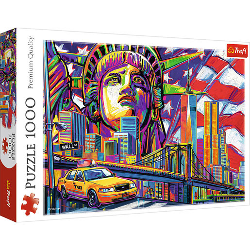 Trefl - New York 1000pc Puzzle