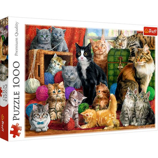 Trefl - Feline Meeting 1000pc Puzzle