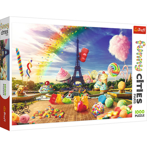 Trefl - Funny Cities Sweets In Paris 1000pc Puzzle