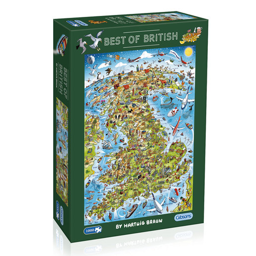 Gibsons Best of British Puzzle - 1000pcs.
