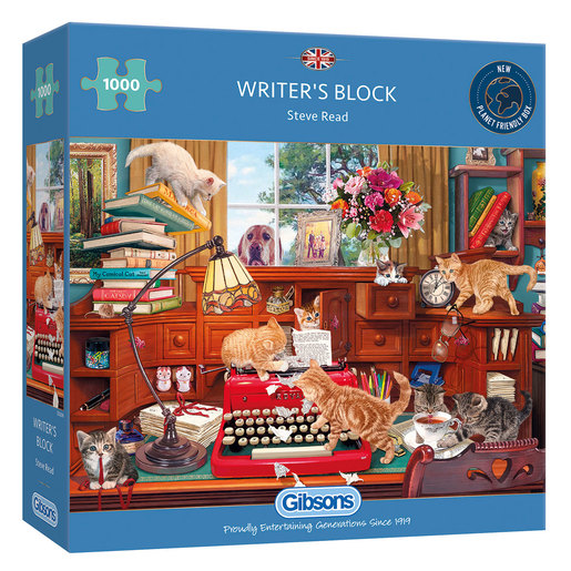 Gibsons Writer's Block Puzzle - 1000pcs.
