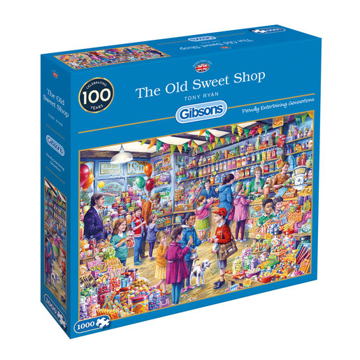 Gibsons The Old Sweet Shop Puzzle - 1000pcs.