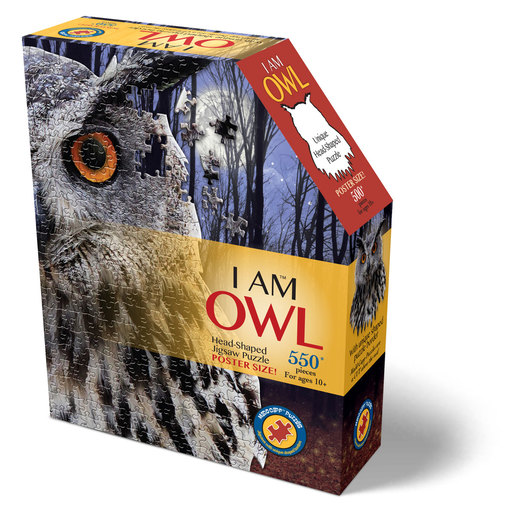 Madd Capp I Am Owl Poster Size Puzzle - 550pcs.
