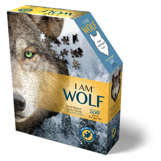 Madd Capp I Am Wolf Poster Size Puzzle - 550pcs.