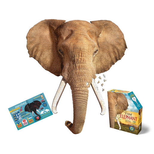 Madd Capp I Am Elephant Poster Size Puzzle - 700pcs.