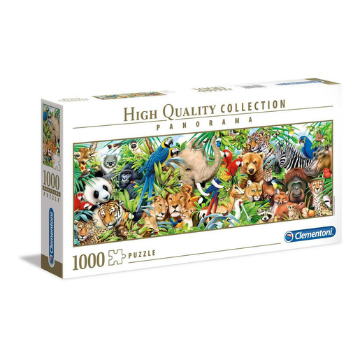 Clementoni - Wildlife 1000pc Panorama Puzzle