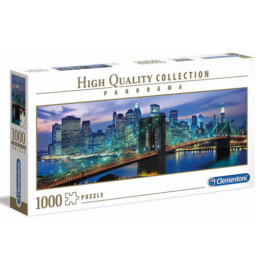 Clementoni - Panorama New York 1000pc Puzzle