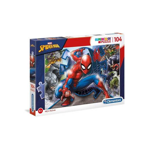 Clementoni - Spiderman 104pc Puzzle